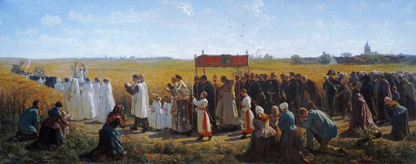 The Blessing of the Wheat in the Artois