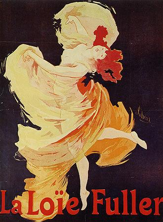 Poster For The Dancer Loie Fuller Jules Ch 233 Ret As Art