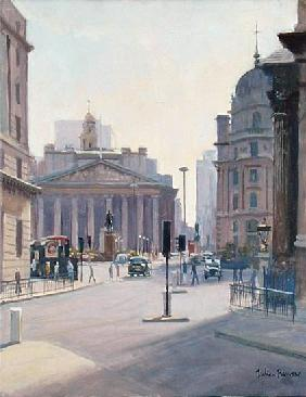 The Royal Exchange (oil on canvas)