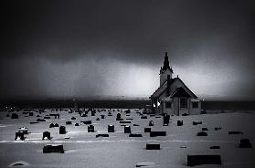 White Chapel before storm
