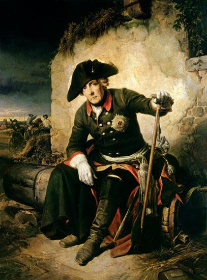 Friedrich Ii After The Battle Of Kolin Julius Schrader