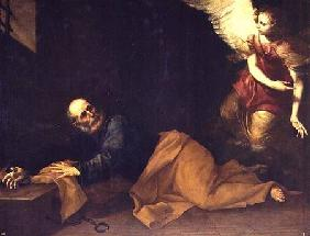 St. Peter Freed by an Angel