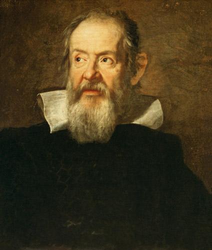 Bildnis von Galileo Galilei - Justus Susterman as art ...