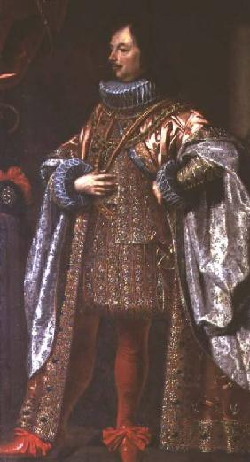 Vincenzo II Gonzaga, ruler of Mantua from 1587-1612, wearing a cloak of the Order of the Redemeer