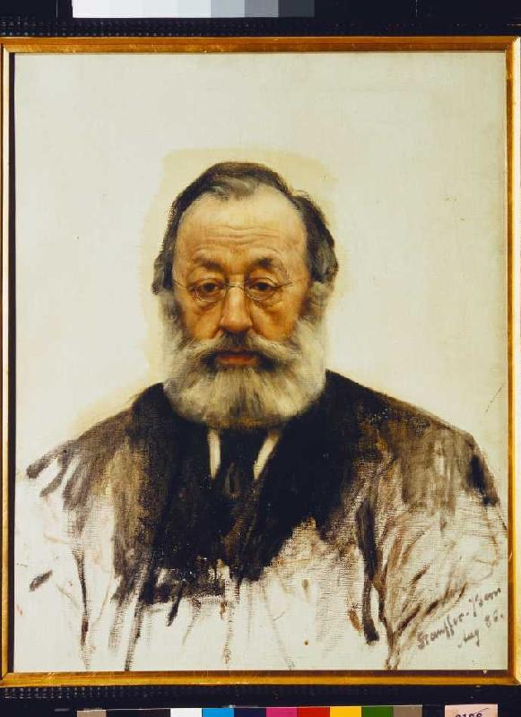 Portrait Gottfried Keller Karl Stauffer Bern As Art