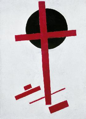 Malevich / Red Cross ... / Ptg.aft.1914