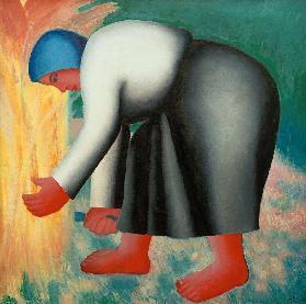 Malevich / The Peasant II / 1928/32