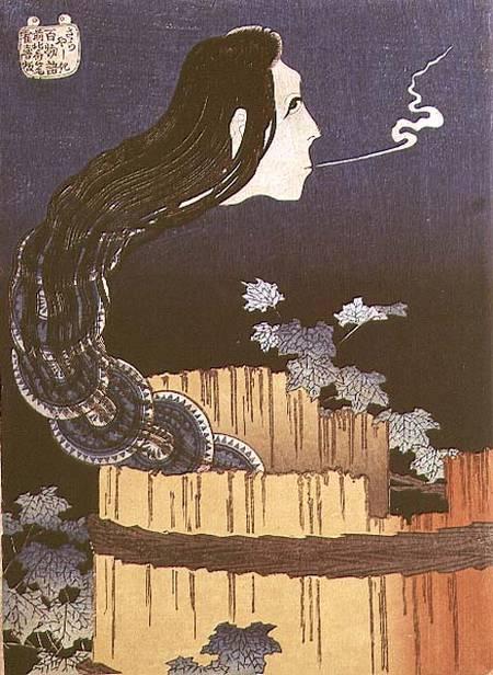 Japanese Ghost - Katsushika Hokusai as art print or hand ...