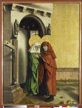 Meeting of Joachim and Anna at the golden gate