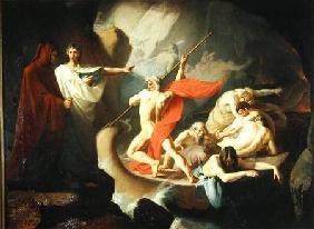 Charon Conveying the Souls of the Dead across the Styx