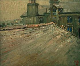 Untitled (View of Roofs in Douglas, Isle of Man)