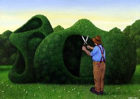 Moore Topiary (acrylic on linen)