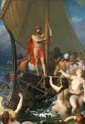 Ulysses and the Sirens (detail of 154170)