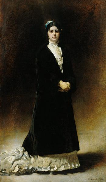Portrait of Emmanuella Signatelli, Countess Potocka