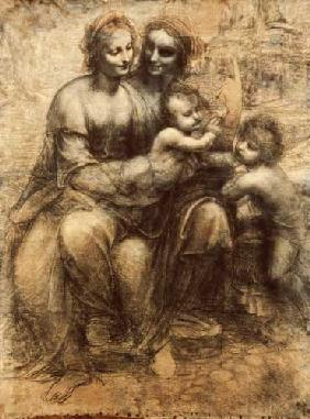 The virgin and child with the saint's Anne and the saint's John, the baptist