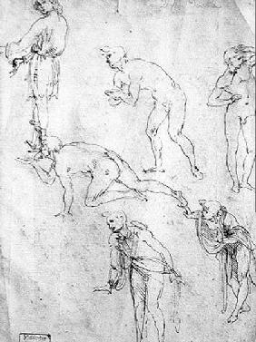 Six Figures, Study for an Epiphany  and