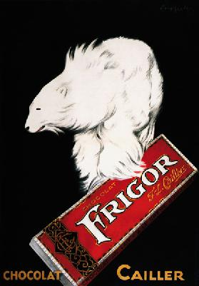 Frigor Chocolate Poster by Leonetto Cappiello
