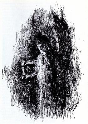 "Illustration to drama ""The Masquerade"" by M. Lermontov"