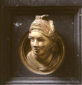 Female head, roundel from the frame of the Gates of Paradise (East doors)