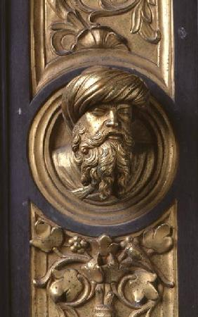 Male head, roundel from the frame of the Gates of Paradise (East doors)
