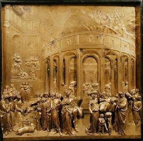 The Story of Joseph, original panel from the East Doors of the Baptistery