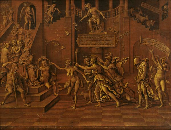 Allegory Of Slander Or Allegory Of Fort Lorenzo