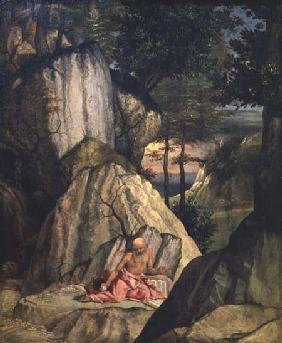 St. Jerome Meditating in the Desert