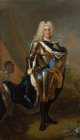 King Augustus II of Poland, before 1730