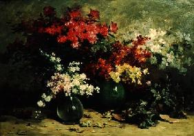 Still Life of Spring Flowers