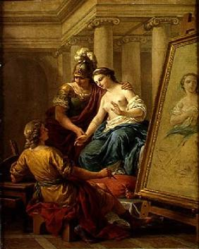 Apelles in Love with the Mistress of Alexander