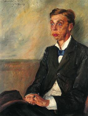 Portrait Eduard Graf of Keyserling