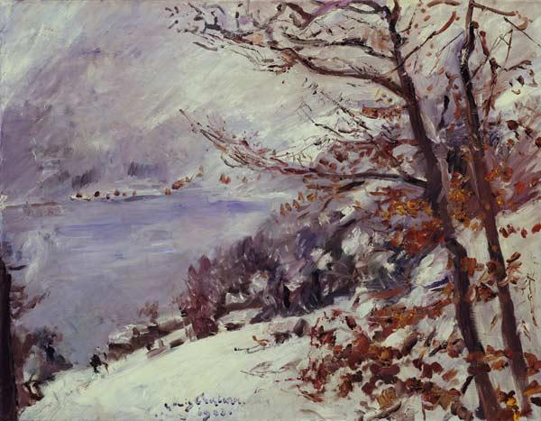 The Walchensee in winter