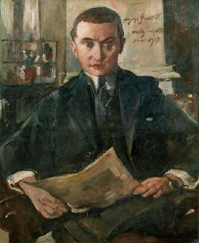 Portrait of Wolfgang Gurlitt