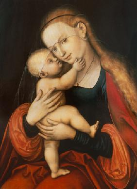 Madonna with child (Passauer picture with miraculous powers)