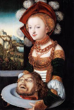 Salome with the head of Johannes.