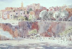 Darricha, Fes, 2000 (w/c on paper)