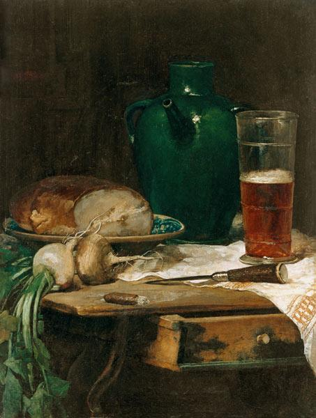 Quiet life with bread and beer
