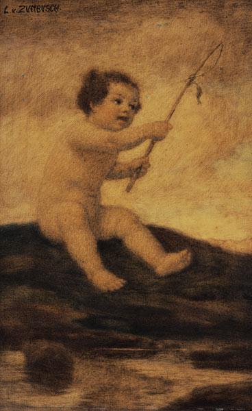 Fishing Putto.