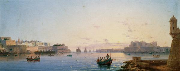 The Grand Harbour, Valletta