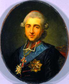 Portrait the Michal Poniatowski (1746-1786)