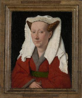 Portrait of Margaret, the Artist's Wife