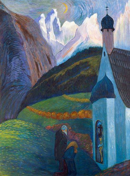 The Prayer Marianne Von Werefkin As Art Print Or Hand