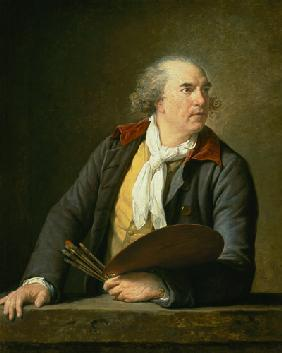 Portrait of the painter Hubert Robert.