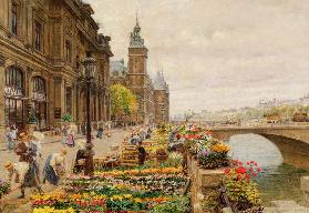 The Parisian Flower Market