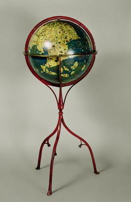 Terrestrial Globe, made in Nuremberg in 1492 (see also 158166 and 158167)