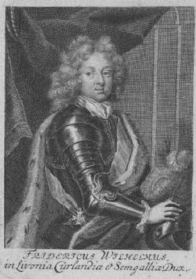 Portrait of Frederick William Kettler (1692-1711), Duke of Courland and Semigallia