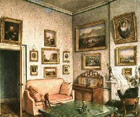 Col. Norcliffe's study at Langton Hall