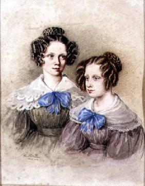 Portrait of the Wake Sisters