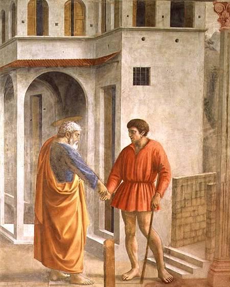 The Tribute Money Masaccio