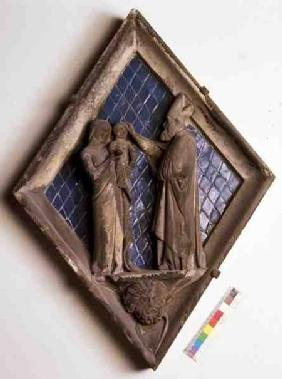 The Baptism, relief tile from the Campanile